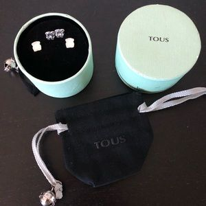 Tous mother of pearls earrings